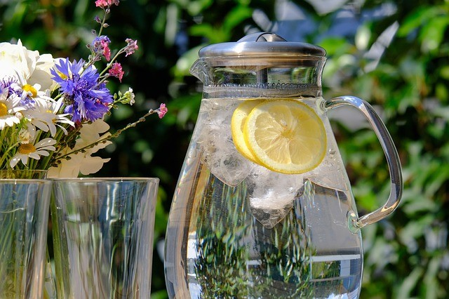 Water Jug with Refreshment Drink